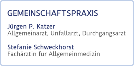 Gemeinschaftspraxis Katzer Schweckhorst Logo